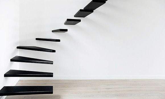 Awesome stairs but would be scary to climb!