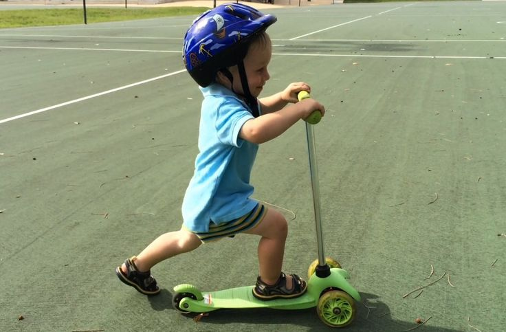 Zoomy Leisure Mini Scooter is fun and safe for kids 2-5.
