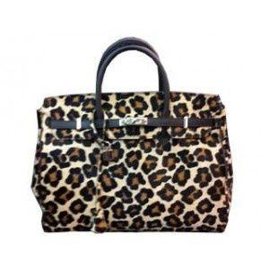 7b817151a72 Women s Bags   Handbags Nima Accessories Leopard Print Handbag Purse With  Gold Ring Handle Black  ebay  Fashion
