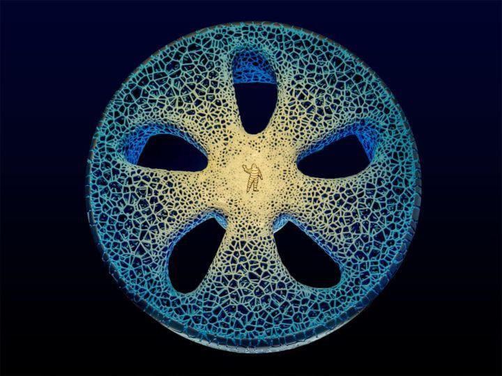 Michelin presents 3D printed, organic tire concept