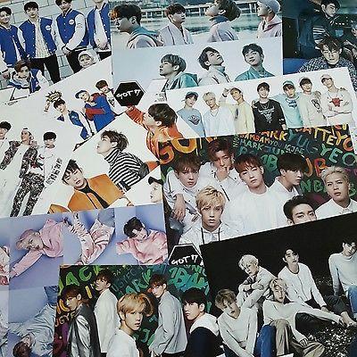 [ GOT 7 ] Got7 Bromide Poster 12pcs + Sticker Size of A4 Paper x 2 Kpop