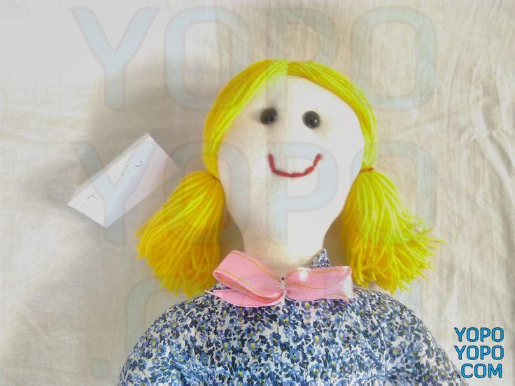 Oyuncak Kız Bebek Sarışın Şirin PT2529 Renk: Karma  Kumaş: Karma  İç Dolgu: Elyaf  Ebat: 52 cm  Fiyat: 30 TL  Açıklama: Saçı İp Püsküllüdür.  Kargo: Alıcıya Ait (Firmayı seçebilirsiniz)