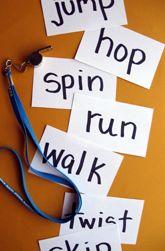 Activities: Verbs Relay Race!