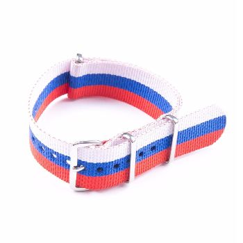 MWC Watches Russia 20mm Nato Watch Strap: The 20mm NATO Watch Straps from MWC (Military Watch Company) are made from washable and fast drying ballistic nylon webbing, with stainless steel buckles. These watch straps fit on all MWC watches and other brand's military watches of similar size.