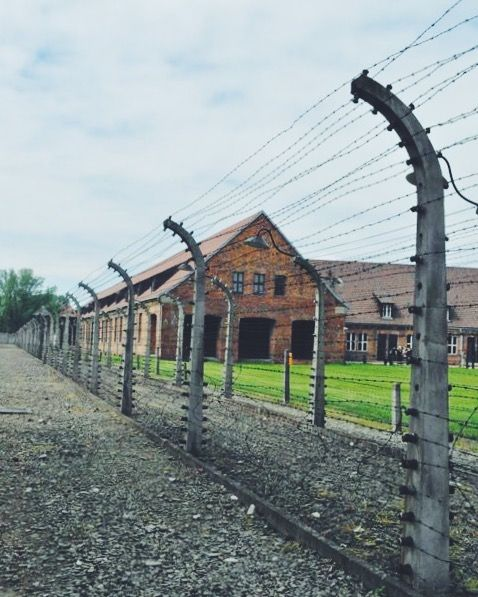 Auschwitz Concentration Camp in Poland 2011