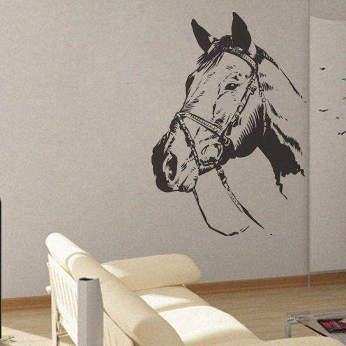 Horse   UBer Decals Wall Decal Vinyl Decor Art Sticker Removable Mural  Modern A249