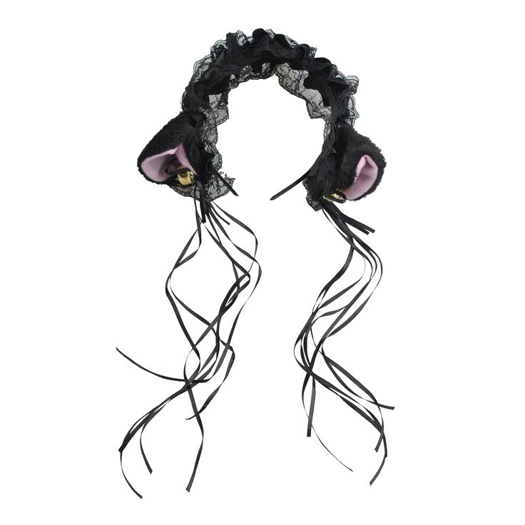 Been looking everywhere for something like Cosplay Lace Cat ... ? Well, we've got good mews! http://www.1stopcatshop.com/products/cosplay-lace-cat-ears-ribbon-headband