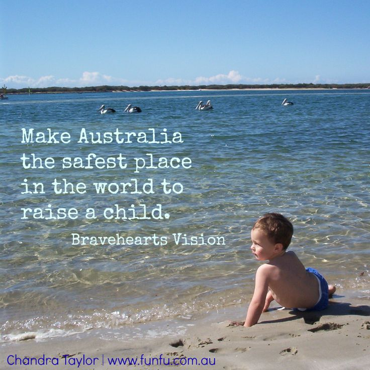 FunFu collaborating with Bravehearts to make Australia the safest place in the world to raise a child.