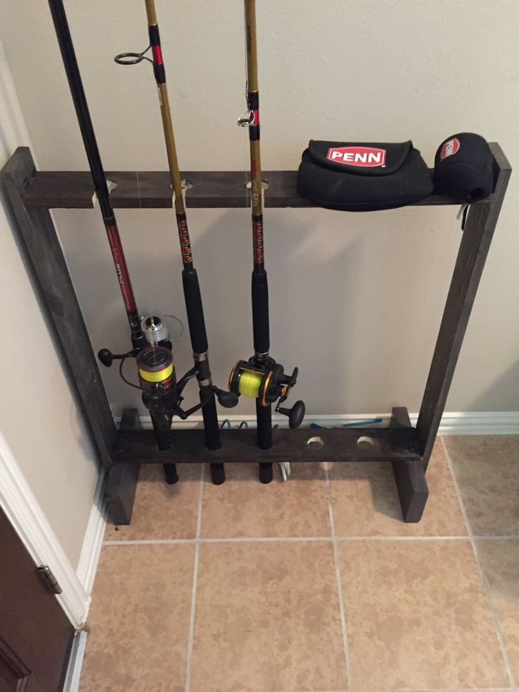 25 Best Fishing Pole Holder Ideas On Pinterest Pole