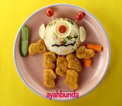 Nasi Goreng Sayur Monster :: Fried Rice with Monster Vegetable