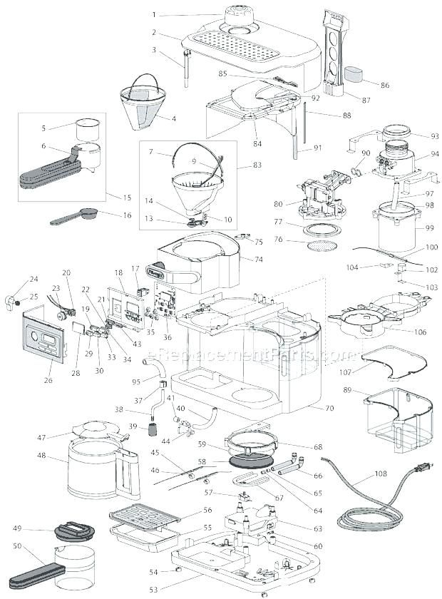 Bunn Coffee Maker Parts Diagram Bxb Di 2020
