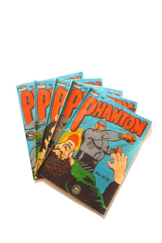 Vintage Phantom Comic Books 675 676 677 678 679