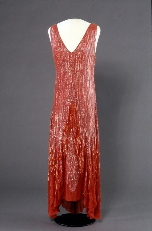 Charlotte g shore red dress 20s