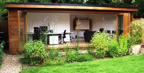 1000 images about hok met veranda on pinterest for Garden office wales