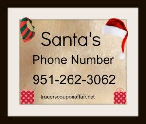 Free Call from Santa + Santa's Phone Number! #christmas