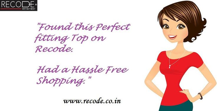 Get your Perfect fitting dress at Recode. www.recode.co.in
