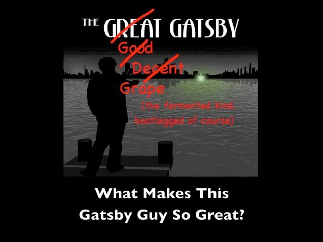 The Great Gatsby: Gatsby is taught all over the world partly because it's a history lesson and novel all rolled into one delicious wrap of intrigue. Mmmmm…intrigue.