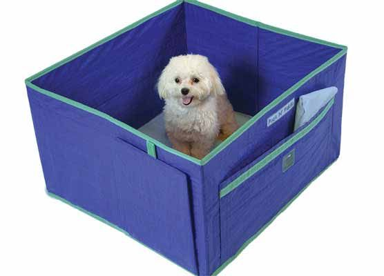 Pack 'N Piddle is a simple portable indoor pet potty designed to last! It's constructed of a lightweight, durable waterproof material that's easy to clean.