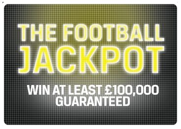 Win A Guaranteed £100,000 For Only A £1 Stake! Play The Football Jackpot Game For Just £1, Just Predict 15 Results Correct Choosing From A Home Win, Draw Or Away Win, Plus   Place A £5 Bet On Any Sporting Event And Get A Free £20 Bet Instantly! More Info http://www.initto-winit.com/sports/coral-sports/ Direct Link Is http://bit.ly/1kMGv9z For The Very Best In Gaming Entertainment You Have To Be initto-winit.com
