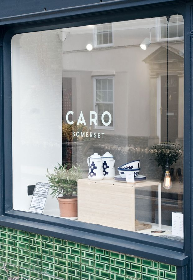 Also drawn to the simple logo and store front