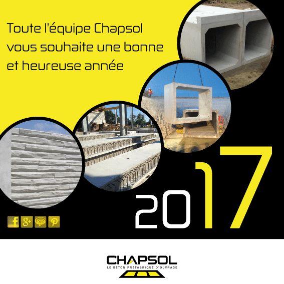 CHAPSOL et toute son équipe vous présente ses Meilleurs Voeux pour l'Année 2017 que nous espérons de nouveau passer à vos côtés ! http://www.chapsol.fr http://www.chapsolferroviaire.fr http://www.chapsol.pro