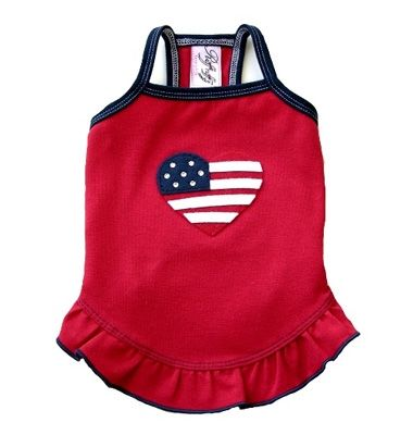 Perfect For The 4th!Ruff Couture, Dogs Dresses, Dog Dresses, Hillary Dogs, Doggie Dresses, 4Thofjuly Fourthofjuli, Hillary Dresses, Ruff Ruff, Dogs Clothing