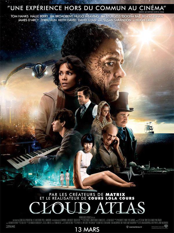 Cloud Atlas de Lana et Andy Wachowski et Tom Tykwer en salles françaises le 13 mars 2013