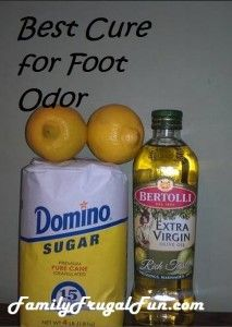 Best Cure for foot odor - sports feet