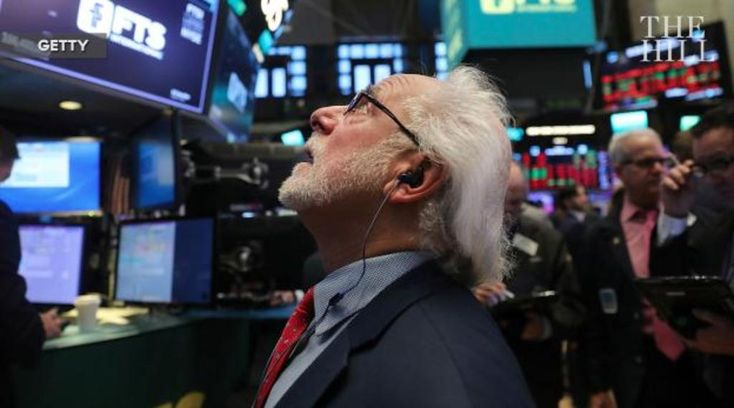 Dow falls more than 1,000 in biggest daily point-drop ever