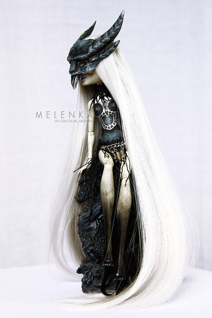 #melenka #monster #high #repaint #monsterhigh #fantasy #rochelle #rochellegoyle…