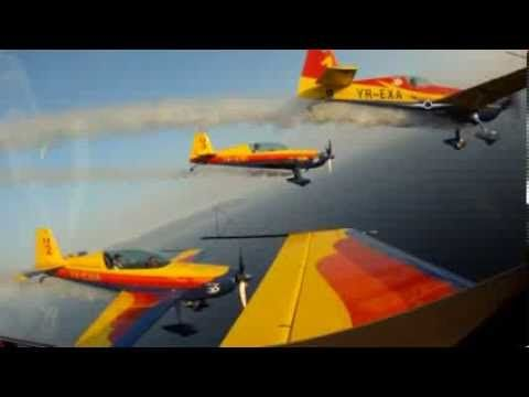 kavala air sea show 2013  Romania Hawks