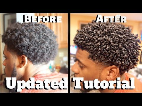 Mens Curly Hair Tutorial pt.2 | Define Curls Natural Hair | Emely Hairstyles Jou…