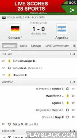 Soccerstand  Android App - playslack.com ,  Stay in touch with everything you love about sport. With the Soccerstand app, you are always just one touch away from the fastest possible LIVE scores, stats, competition tables and draws from nearly 30 sports a