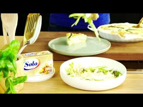 Quiche met prei en asperges videorecept | Solo Open Kitchen