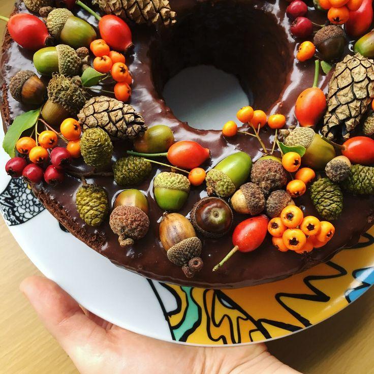 Chocolate Redwine Cake