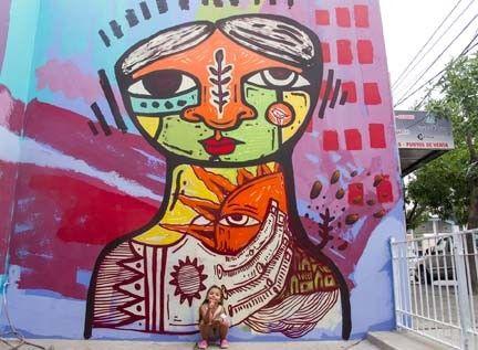La calle se viste de arte, el street art es una forma de expresión del arte urbano