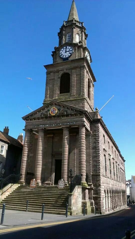 Town Hall Berwick Upon Tweed
