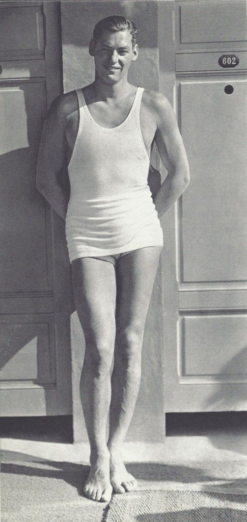 Johnny Weissmuller, U.S. Olympic swimmer and actor