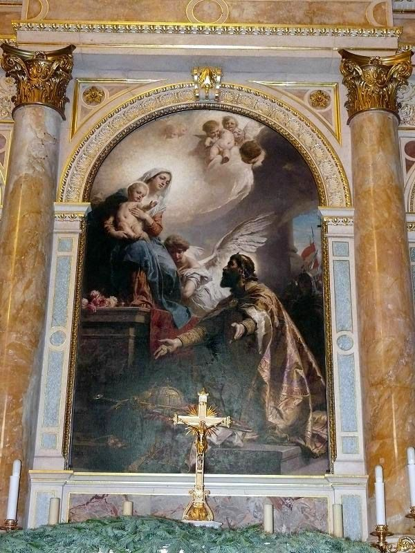 Αγιογραφία στη βασιλική αγίου Στεφάνου της Βουδαπέστης