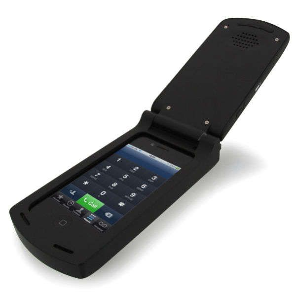 This iPhone Flip Phone Case Takes Your Device Back in Time #design trendhunter.com