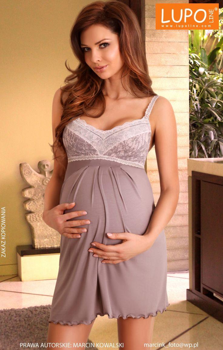 Koszula ciążowa i do karmienia 1383 • Maternity