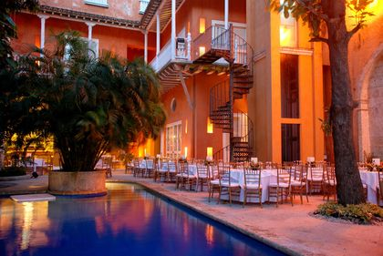 in a week and a half I will be sippin' club colombia by the water at Hotel Casa Pestagua in Cartagena Colombia :)