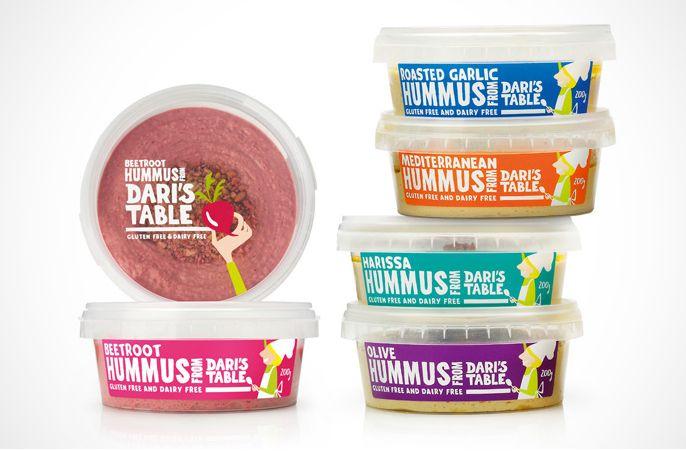 Dari's Table #packaging #PET #tubs