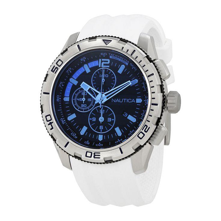 17 best ideas about mens designer watches navy nautica nautica nst 101 chronograph dark blue dial mens watch nai19521g on designer
