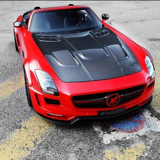 The awesome, the amazing, 2013 Hamann Mercedes SLS!