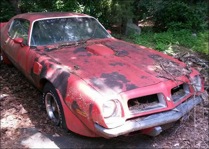 1974 Pontiac Firebird SD | ABANDONED CARS -Muscles Rust in ...