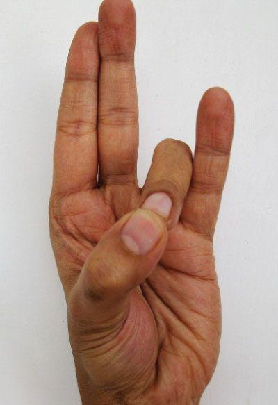 Mudry to ćwiczenia polegające na specjalnym układaniu palców dłoni