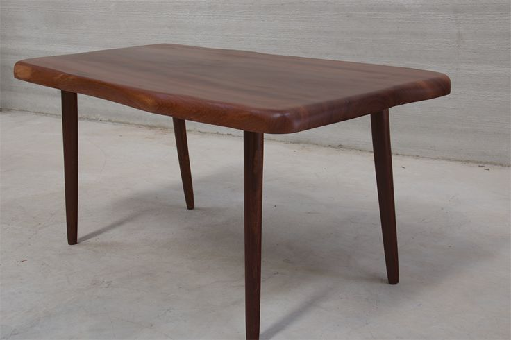 Nami Pod Mahogany and African Rosewood Dining Table