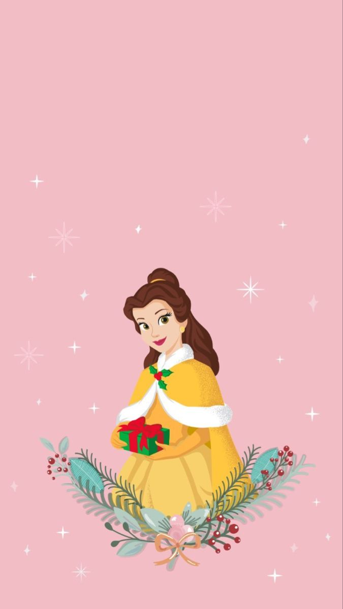 Belle Wallpaper From The Disney Princess Instagram Disney Wallpaper Disney Princess Wallpaper Cute Wallpapers