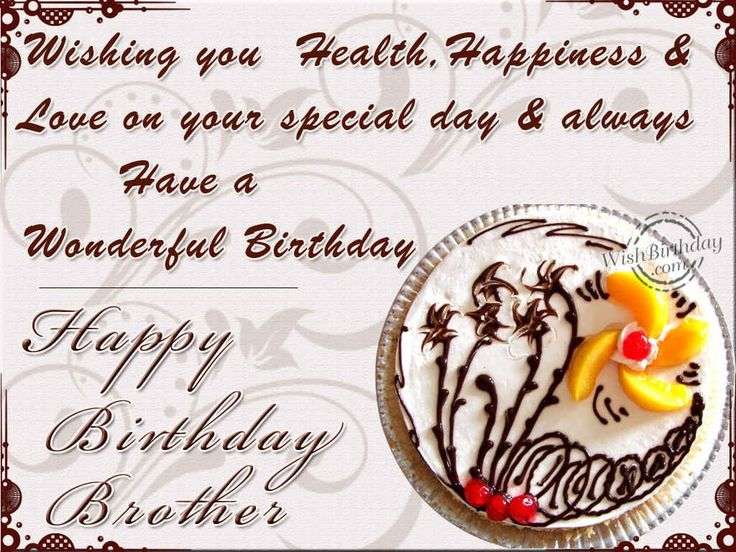 The 25 best Birthday greetings for brother ideas – Birthday Greetings to Brother